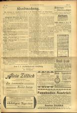 Salzburger Volksblatt: unabh. Tageszeitung f. Stadt u. Land Salzburg 19010907 Seite: 23