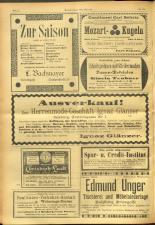 Salzburger Volksblatt: unabh. Tageszeitung f. Stadt u. Land Salzburg 19010907 Seite: 24