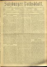 Salzburger Volksblatt: unabh. Tageszeitung f. Stadt u. Land Salzburg