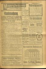 Salzburger Volksblatt: unabh. Tageszeitung f. Stadt u. Land Salzburg 19100826 Seite: 15