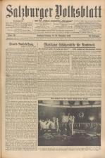 Salzburger Volksblatt: unabh. Tageszeitung f. Stadt u. Land Salzburg 19381119 Seite: 1