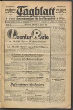 Tagblatt. Generalanzeiger für das Burgenland 19300108 Seite: 1