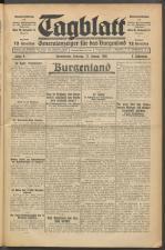 Tagblatt. Generalanzeiger für das Burgenland