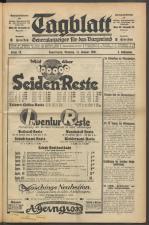 Tagblatt. Generalanzeiger für das Burgenland 19300114 Seite: 1