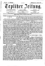 Teplitzer Zeitung