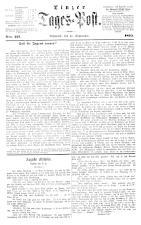 (Linzer) Tages-Post 18650927 Seite: 1