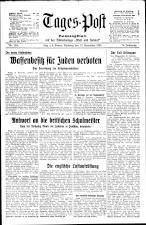 (Linzer) Tages-Post 19381112 Seite: 1