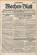 Triestingtaler u. Piestingtaler Wochen-Blatt 19381105 Seite: 1
