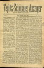 Teplitz-Schönauer Anzeiger 18930101 Seite: 1