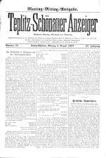 Teplitz-Schönauer Anzeiger