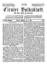 Tiroler Volksblatt