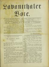 Lavanttaler Bote 18921231 Seite: 1