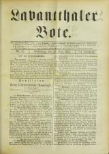 Lavanttaler Bote 18930325 Seite: 1