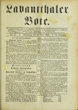 Lavanttaler Bote 18930415 Seite: 1