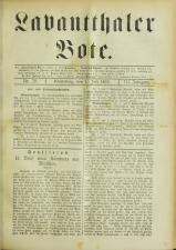 Lavanttaler Bote 18930701 Seite: 1