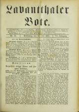 Lavanttaler Bote 18930715 Seite: 1