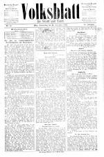 Volksblatt für Stadt und Land 18921229 Seite: 1
