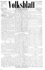 Volksblatt für Stadt und Land 18930323 Seite: 1