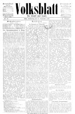 Volksblatt für Stadt und Land 18930921 Seite: 1