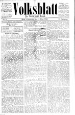 Volksblatt für Stadt und Land
