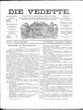 Die Vedette 18930716 Seite: 1