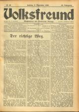 Volksfreund 19381203 Seite: 1
