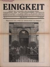 Vereinsblatt - Organ des Vereines der Heim- und Hausarbeiterinnen 19270501 Seite: 1
