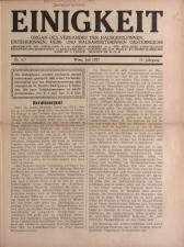 Vereinsblatt - Organ des Vereines der Heim- und Hausarbeiterinnen