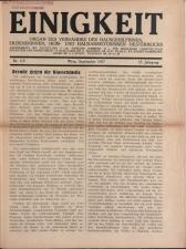 Vereinsblatt - Organ des Vereines der Heim- und Hausarbeiterinnen 19270901 Seite: 1