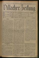 Villacher Zeitung 19080813 Seite: 1
