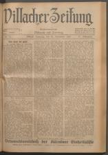 Villacher Zeitung 19230929 Seite: 1