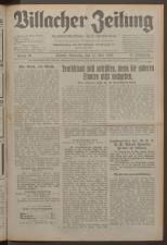 Villacher Zeitung 19330513 Seite: 1