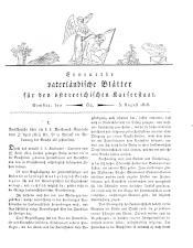 Vaterländische Blätter