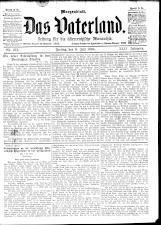 Das Vaterland 18940706 Seite: 1