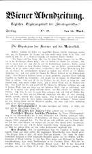Wiener Abendzeitung