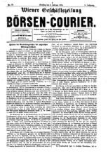 Wiener Börsen-Courier