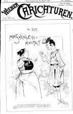 Wiener Caricaturen 18930122 Seite: 1