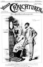 Wiener Caricaturen 18930625 Seite: 1
