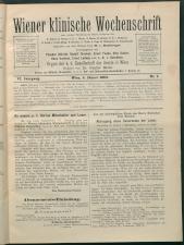Wiener Klinische Wochenschrift 18930105 Seite: 1
