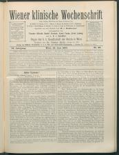 Wiener Klinische Wochenschrift