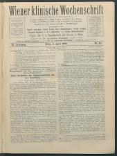 Wiener Klinische Wochenschrift 18960409 Seite: 1