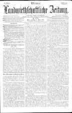 Wiener Landwirtschaftliche Zeitung 18930325 Seite: 1