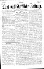 Wiener Landwirtschaftliche Zeitung 18931007 Seite: 1