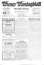 Wiener Montagblatt