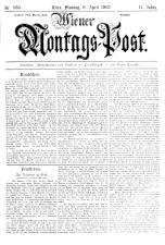 Wiener Montags-Post