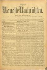 Wiener Neueste Nachrichten 18950114 Seite: 1