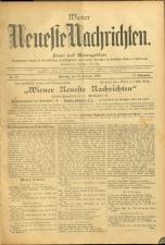 Wiener Neueste Nachrichten 18950218 Seite: 1