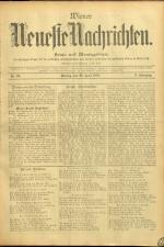 Wiener Neueste Nachrichten 18950429 Seite: 1