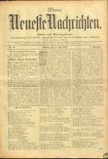 Wiener Neueste Nachrichten 18950610 Seite: 1