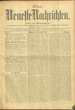 Wiener Neueste Nachrichten 18950812 Seite: 1
